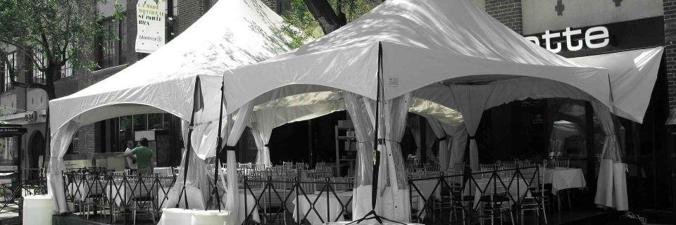 ACME tent rentals in Montréal (514) 821-8368