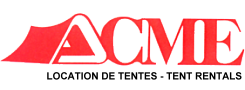 Location de Tentes - ACME - Tent Rentals